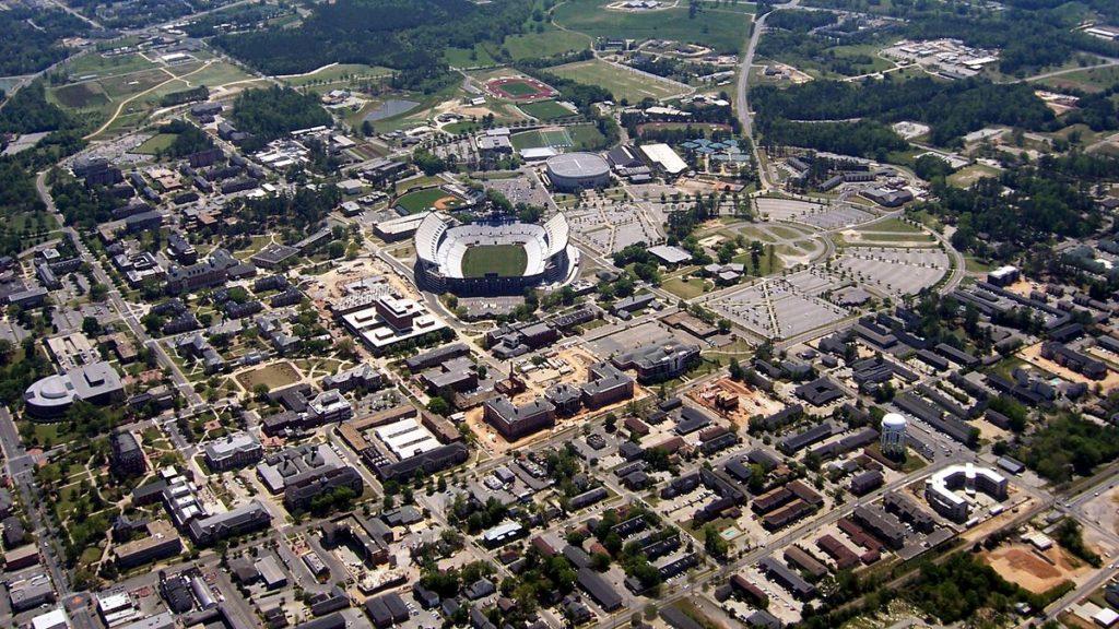 city of Auburn, AL alta survey