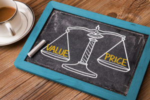 value and pricing professional fees