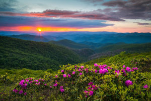 north carolina blue ridge mountains