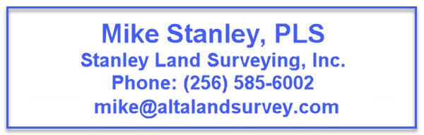 alta survey huntsville al - Mike Stanley