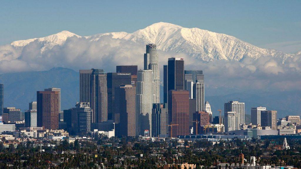 LA Skyline - ALTA Survey Los Angeles