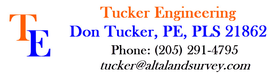 Tucker Engineering - alta survey pell city al